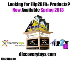 Im a PROUD MOM today - Flip2BFit and Bakari - My two kids have found their way in to the REAL WORLD as part of the Discovery Toys offerings!  Discovery Toys - One of the Countries foremost Educational Toy Companies will begin carrying both Flip2BFit and Bakari Spring 2013!!!!!  Truly Truly Truly a proud day for me after 2+ years of commitment - dedication - and belief that everything I was doing was RIGHT!  WOOO HOOO!  Excited to share with everyone and to take 2013 with great pride!!