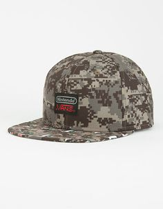 bb9dc14f0d0 VANS x Nintendo Duck Hunt Mens Snapback Hat