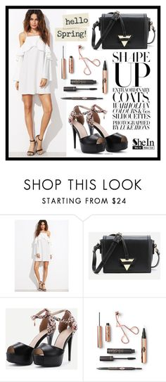 """SheIn 4."" by fashion-rebel-chic ❤ liked on Polyvore featuring WithChic"