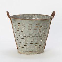 Terrain Vintage Olive Basket #shopterrain