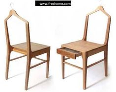 Chair + coat stand