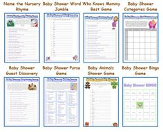 unique baby shower games ideas free baby shower games unique
