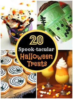 20 Spook-tacular Halloween Treats (pinned over 11,000 times!)