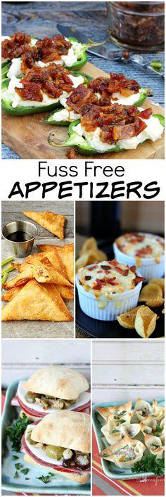 Fuss Free Appetizers