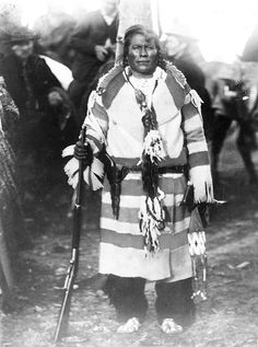 MOSES ON THE MESA Bear Chief. Siksika. 1896. Photo by Walter McClintock. Source - Yale Collection of Western Americana, Beinecke Rare Book and Manuscript Library.