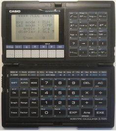photo of the Casio FX-7500G calculator