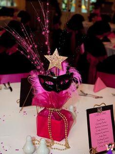 Masquerade Centerpieces for Sweet 16 Masquerade Party Centerpieces, Masquerade Party Decorations, Masquerade Ball Party, Masquerade Theme, Burlesque Party, Ball Decorations, Balloon Centerpieces, Wedding Centerpieces, Sweet 16 Masquerade