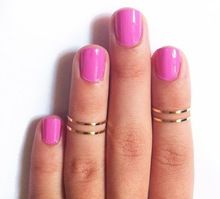 4 unids/set Punk chapado en oro fino normal Chic Simple banda del anillo del nudillo / The Midi anillo anillos de moda para mujeres(China (Mainland))