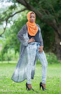 Queen Saadat models for 'Haddiee Clothing' (photos) - Accueillir en Gbetu TV
