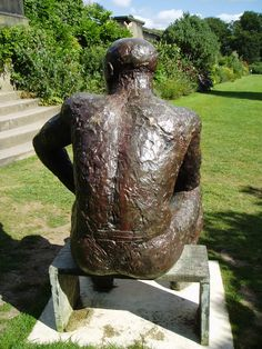 Great back view - Elizabeth Frink Sculpture