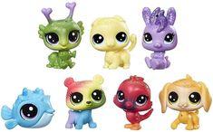 Littlest Pet Shop Duhový set 6 ks medvídků - Herní set