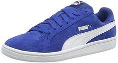 Puma Smash SD, Unisex-Erwachsene Sneaker, Blau