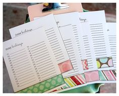 @Elli Chambers--  Another cute altered item idea w/mod podge & scrapbooking paper clip board--Birthday calendar printables for a clipboard