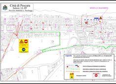 Pescara lavori anti allagamento: da lunedì senso unico direzione sud-nord in  viale Primo Vere da via Celommi a Piazza Alcyone