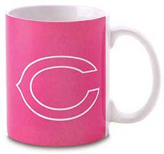 Pink Chicago Bears Mug!