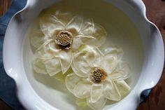 Jeong Kwan. Té de brotes de la flor de loto, que Kwan ofrece a veces a los visitantes. Simboliza el florecimiento de la iluminación budista