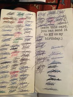 A Birthday Card That Has Been Re-Gifted 94 Times Between Two Relatives: Hallmark…
