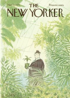 The New Yorker - Monday, March 10, 1975 - Issue # 2612 - Vol. 51 - N° 3 - Cover by : Charles Saxon
