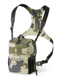 The modular Binocular Harness from KUIU is the most functional bino harness system ever created. Quiet and elastic free to prevent bounce. Available in camo and other colors.