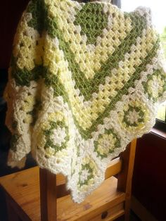 Ravelry: Granny baby blanket