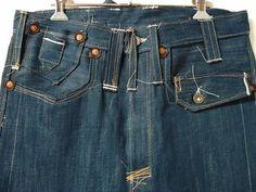 Men's Denim, Raw Denim, Rare Clothing, Exquisite Corpse, Japanese Denim, Tailored Shirts, Vintage Denim, Men's Apparel, Indigo