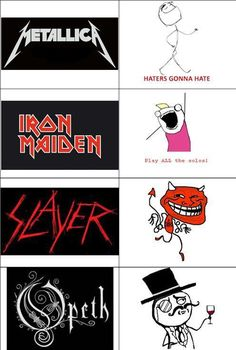 Heavy Metal Bands and Their Memes | SMNnews.com