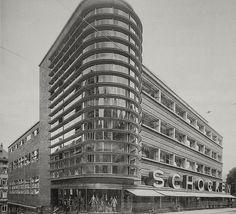 The Schocken Department Store - Stuttgart German