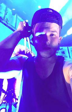 Josh on stage last night