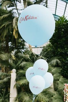 Custom #PrintedBalloons for Cath Kidston and the World's Largest Cream Tea Party, featuring Mary Berry, held at Alexandria Palace.  We print on all balloons, brand your balloons with your company or organisation's logo or #promotional message and reach a huge audience!