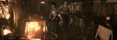 Resident Evil Origins Collection grafica videogame per PS4 Xbox One il volto della paura
