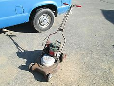 Vintage Lazy Boy Push Mower for Parts or Restore RARE Mower See Photos | eBay