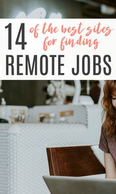 How to find remote jobs so you can work from anywhere. These 14 sites are the best places to search! : How to find remote jobs so you can work from anywhere. These 14 sites are the best places to search! Travel Careers, Travel Jobs, Work Travel, Best Places To Work, Work From Home Tips, Best Sites, Online Work, Marketing, Job Search
