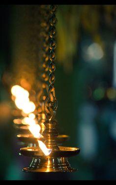 Meditative flames burn quietly. #peace