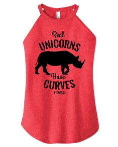 Real Unicorns have Curves – FitnessTeeCo Real Unicorn, Curves, Tees, Shirts, Fitness, Clothes, Women, Fluffy Bunny, Cricut