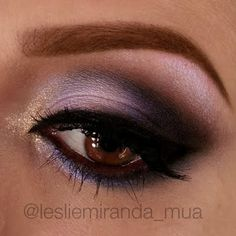Get the sexiest stare in 9 steps with the color precise Artist Shadows Leslie got from MAKE UP FOR EVER. Click on the pic to get to her tutorial.