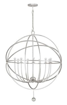 Buy the Crystorama Lighting Group English Bronze Direct. Shop for the Crystorama Lighting Group English Bronze Solaris 9 Light Wide Cage Chandelier with Clear Glass Drops and save. Industrial Chandelier, White Chandelier, Globe Chandelier, Chandelier Ceiling Lights, Contemporary Chandelier, Ceiling Pendant, Pendant Lighting, Ceiling Fans, Modern Contemporary