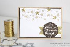Weihnachtskarte | Christmas Card | Zwischen den Zweigen | Perpetual Birthday Calendar | Neutrals | Neutralfarben | Stampin' Up!