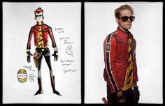 Gerard Way's concept art for the Killjoy character Kobra Kid