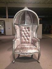 In Stock Gauranteed!Silver Porter chair, Balloon chair, Canopy chair, Dome Chair