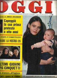 OGGI 1975 - Орнелла Мути с дочерью Найке