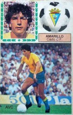 AMARILLO (Cádiz C.F. - 1985-86)