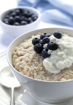 Adding blueberries to your oatmeal increases the health benefits