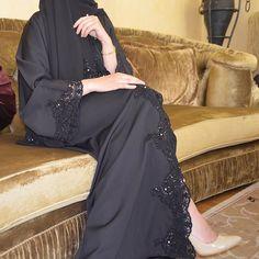 Always black.  #EsteeAudra #abaya