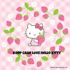 Keep CALM LOVE Hello Kitty