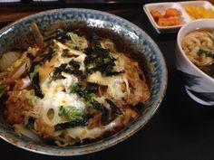 2014.5.19 점심. 가츠동
