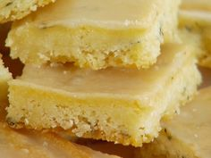 Food Network invites you to try this Lemon Thyme Bars recipe from Giada De Laurentiis.