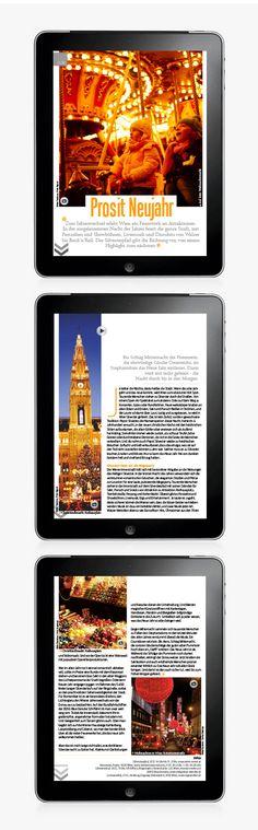 IPad Magazine Article on Behance