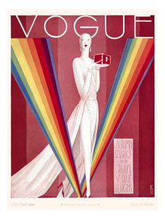 ogue Cover - September 1926  by Eduardo Garcia Benito
