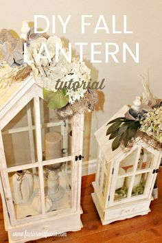 DIY lanterns for fal