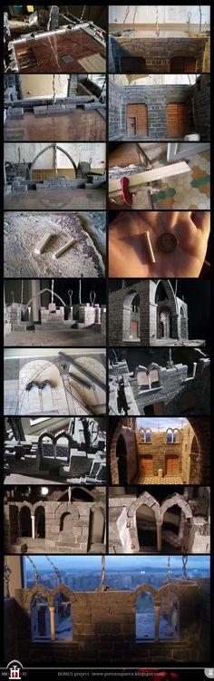 Domus project 137-149: Bìfore (mullioned windows) (part 1)